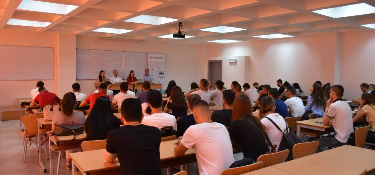 UBT-CERT në Tiranë me studentët e Fakultetit të Teknologjisë Informative promovim Summer Academy CSP