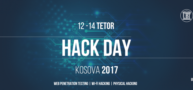 Hack Day Kosova 2017 2nd edition
