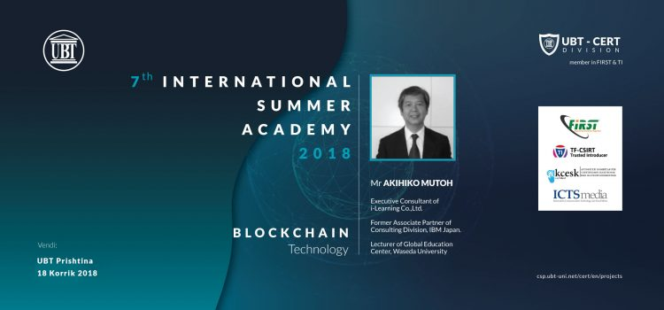 Blockchain technology lecture on Cyber Security & Privacy ISA 18