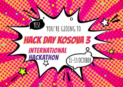 Hackathon Hack Day Kosova 3