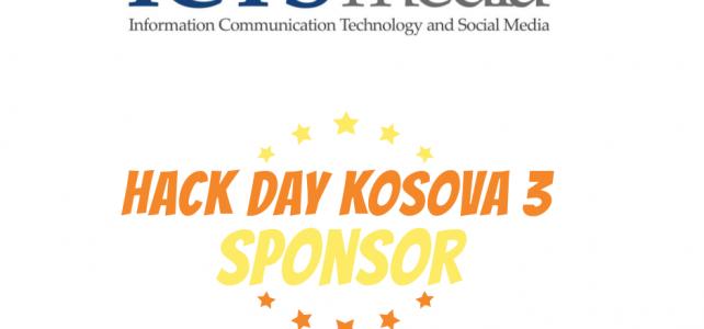 Hack Day Kosova 3 sponsor ICTSmedia